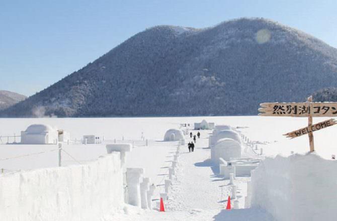 【北海道十勝】然別湖|期間限定冰屋村落