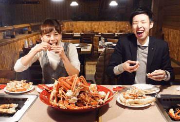 【北海道小樽】小樽運河食堂|小樽唯一的螃蟹吃到飽餐廳