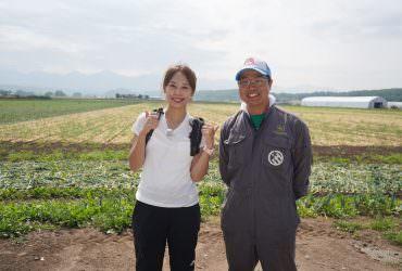 我,黃晴渝!支持美瑛現役農家主導的「美瑛畑看板プロジェクト」(美瑛看板重整計畫)。