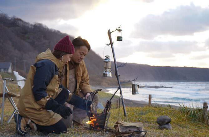 我對北海道在地野營品牌「TRIPATH PRODUCTS」的焚火台和鹿角金屬自由掛架,一見鍾情。